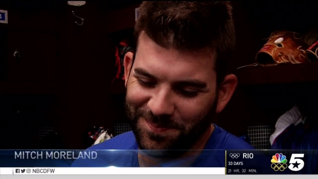 When They Were Young: Rangers Mitch Moreland