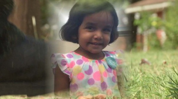 Father of missing Texas toddler now says she choked on milk