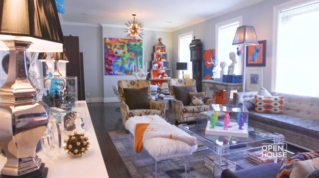 Cricket Burns' Eclectic NYC Home