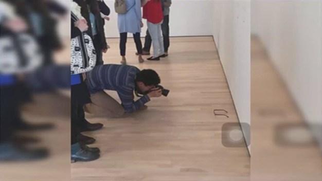 California Teen Uses Glasses as Modern Art Prank at Museum