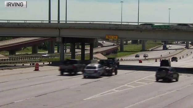 Confusing 183 Lane Shift Corrected After NBC 5 Report