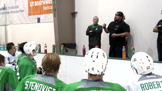 22Kill Group Visits Stars Development Camp in Frisco