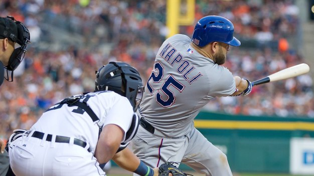 Mike Napoli Talks Return to Rangers