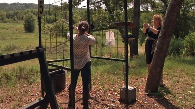 Shooting Ranch Ideal Location for 'Shotgun Weddings'