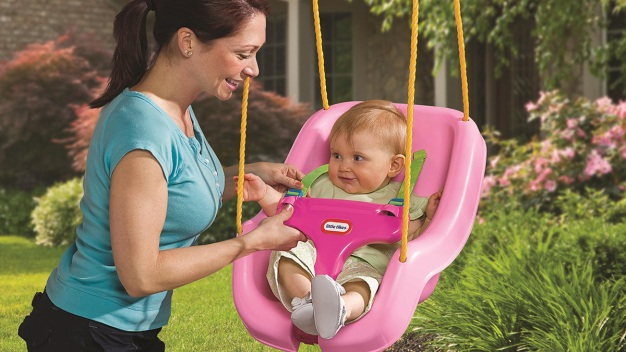 Little Tikes Recalls Toddler Swings Due to Fall Hazard