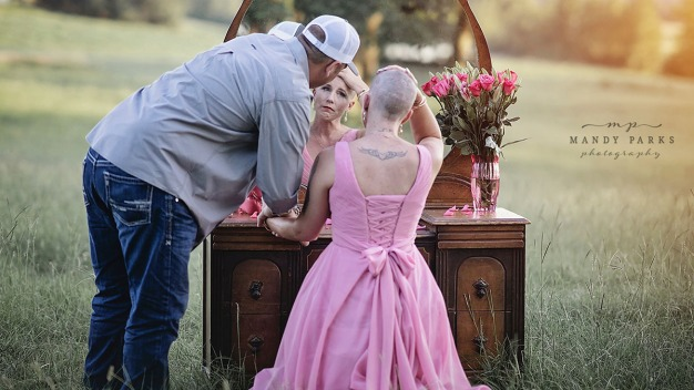 Cancer Patient and Husband's Emotional Photo Shoot Goes Viral