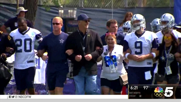 Dallas Police Chief Visits Cowboys in Oxnard