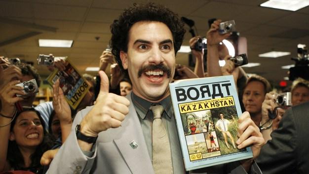 Baron Cohen to Pay Fine Czechs Got Wearing Borat Mankini