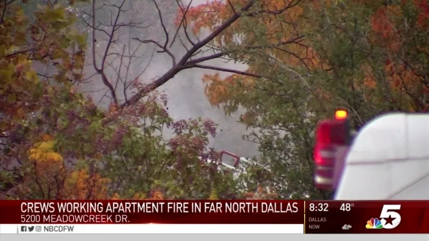 Small Fire Causes North Dallas Apartment Evacuation