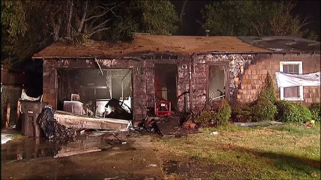 Police Rescue Disabled Man From Burning Home