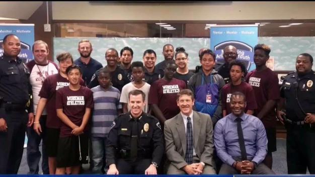 Arlington Police Launch Mentoring Program for Girls