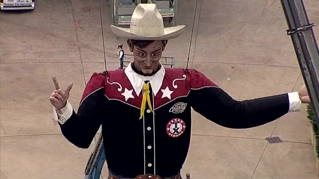 Full Video: Big Tex Goes Up at State Fair of Texas