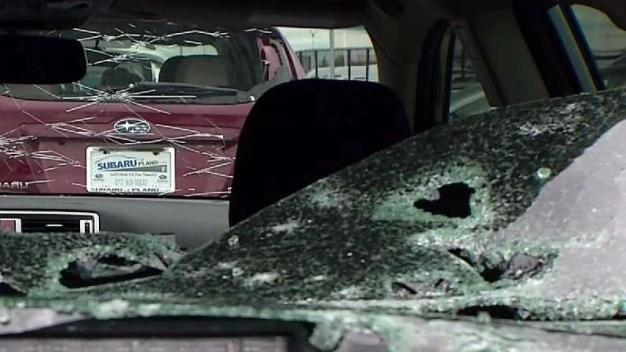 Woman Billed for Hail Damage After Turning Car Back In