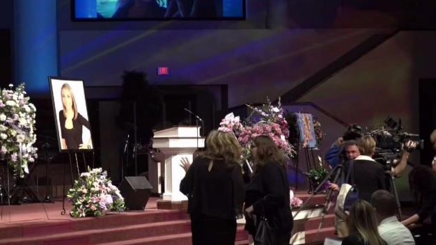 Family & Friends Attend Memorial for Christina Morris