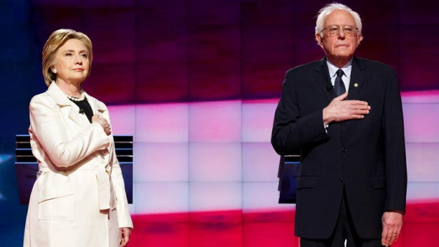 Clinton, Sanders Campaign in Southern California