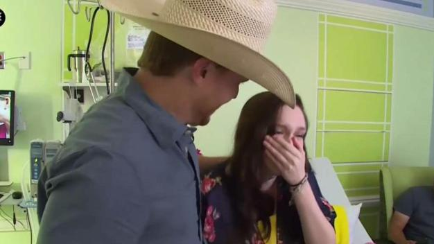 Teen Gets Surprise, Emotional Visit from Country Star