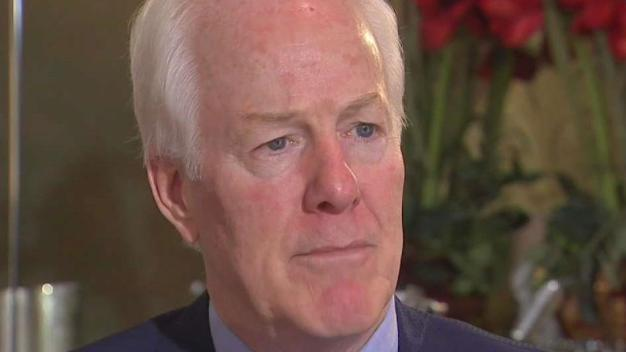 Texas Sen. Cornyn Reacts to Trump's Charlottesville Comments
