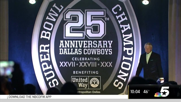 90s-Era Dallas Cowboys, Jerry Jones Celebrate 25th Anniversary