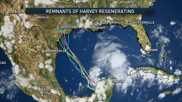 Former Tropical Storm Could Re-Emerge, Threaten Texas Coast