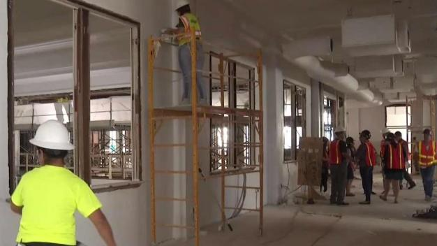 Progress Made on Old Dallas High School Renovation