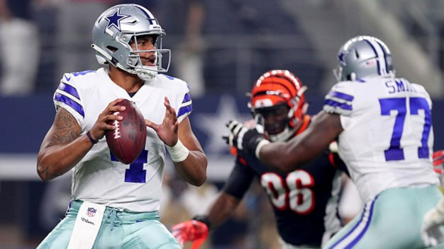 Prescott Solid, Dalton Sluggish as Bengals Top Cowboys