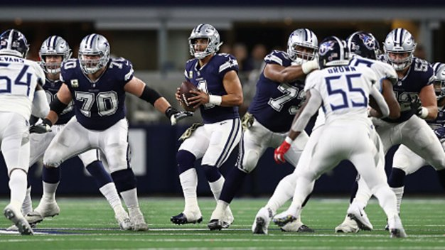 Better Blocking Coincides With Surge by Cowboys in NFC East