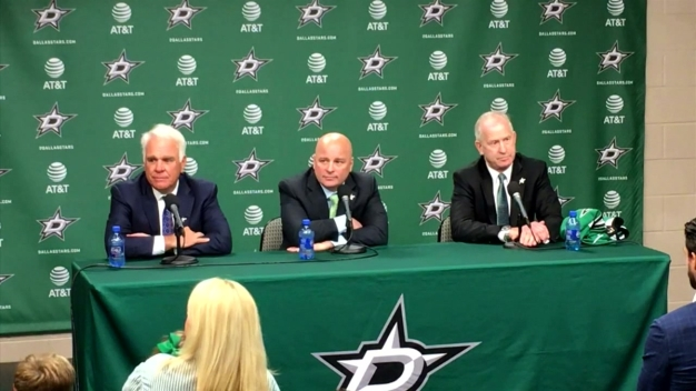 Modano Headlines as Stars Celebrate 1st NHL Draft in Texas