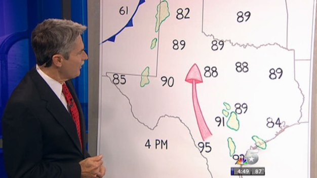 David Finfrock Draws His Weather Maps