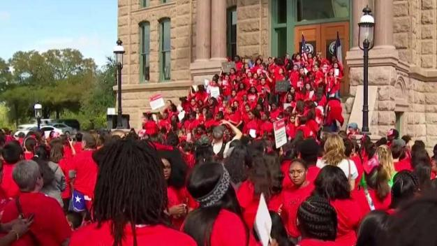 "Hundreds March for ""Day of the Girl"""