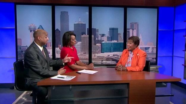 Rep. Eddie Bernice Johnson Endorses Clinton