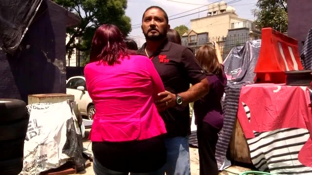 Mexico City Quake Interrupts Quake Anniversary Interview