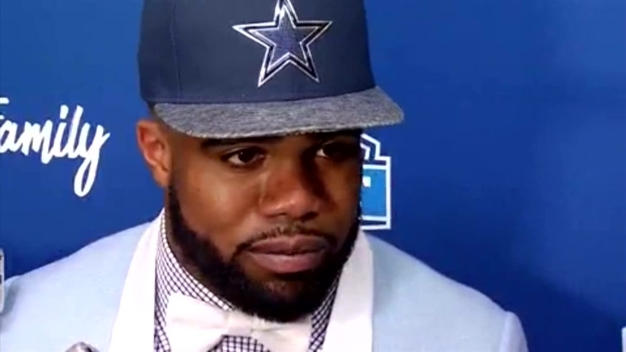 Cowboys Ezekiel Elliott Denies Domestic Violence Allegation