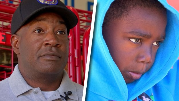 Fort Worth Firefighter Saves 4-Year-Old Trapped in House Fire