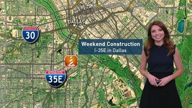 Traffic Alert: Closures This Weekend on I-35E in Dallas
