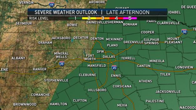 Live Radar: Storms Firing Up West of DFW