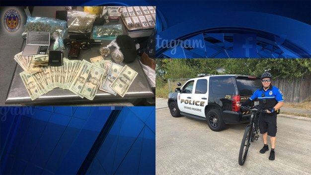 Grand Prairie Police Stop Drug Peddling with New Bike Unit