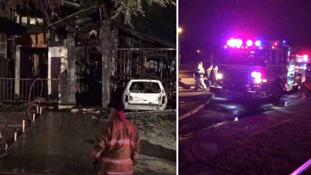 Garland Fourplex Fire Leaves 1 Dead