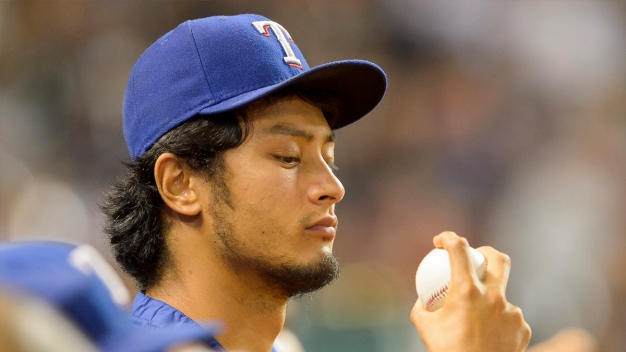 Darvish in Line Saturday for 1st Rangers Start Since 2014