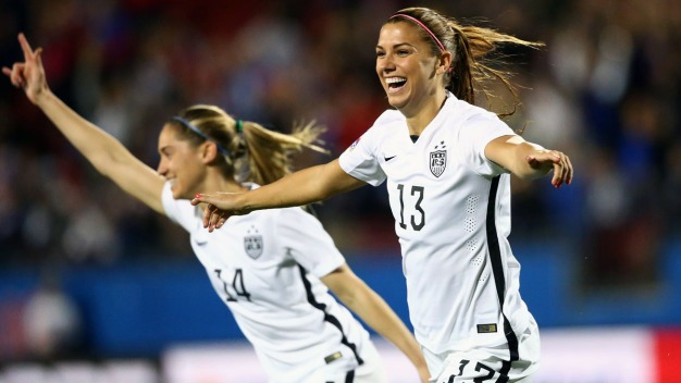 USWNT Opens Olympic Qualifying 5-0 Over Costa Rica