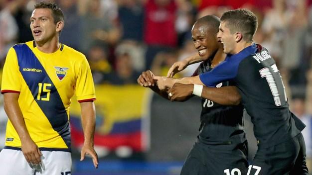 Nagbe's 90th-Minute Goal Lifts U.S. Over Ecuador 1-0