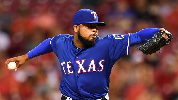 Rangers' Jeffress Reinstated Following DWI Arrest