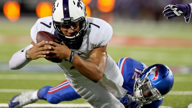 TCU Pulls Away from SMU, 33-3
