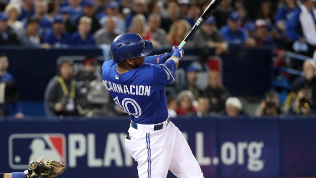 Rangers 'In Talks' With Free Agent Encarnacion: Report