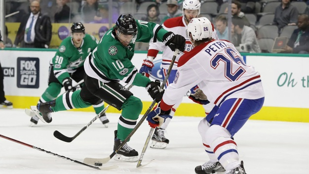 Stargazing: Stars Host Canadiens Tuesday