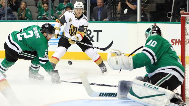 Golden Knights Get 3 Quick Goals in 2nd to Beat Stars