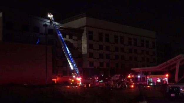 2-Alarm Fire at Plano Hotel
