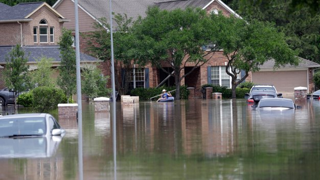 Houston Flooding Causes Release of 1M Gallons of Wastewater