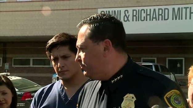 Houston Police Chief Talks About Hospital Lockdown
