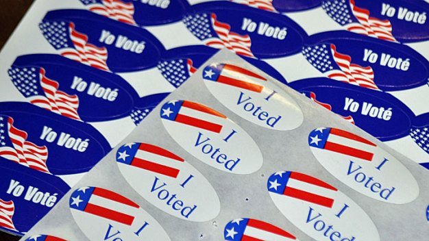 "Voters Question ""I Voted"" Sticker Shortage"