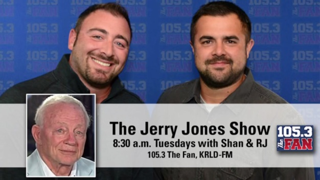 Jerry Jones on Winning, Dak Running and Brad Sham